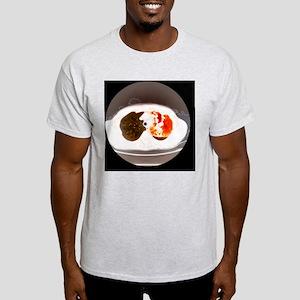 Lung abscess, CT scan - Light T-Shirt