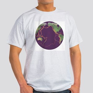 Pacific Ring of Fire - Light T-Shirt