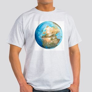 Pangea supercontinent, artwork - Light T-Shirt