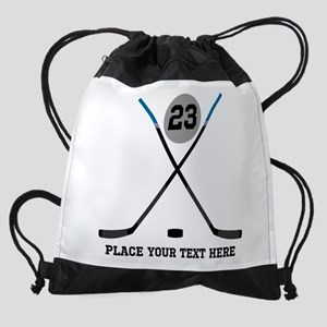 Customize Ice Hockey Drawstring Bag
