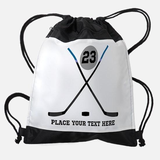 Customize Ice Hockey Drawstring Bag