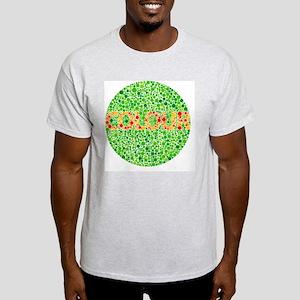 Colour blindness test - Light T-Shirt