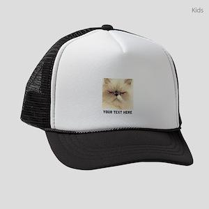 Cat Photo Customized Kids Trucker hat
