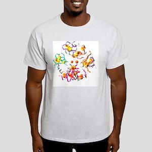 Insulin molecule, computer artwork - Light T-Shirt