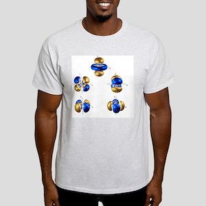 5d electron orbitals - Light T-Shirt