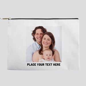 Photo Text Personalized Makeup Bag