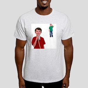 Tin can telephone - Light T-Shirt