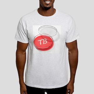 Tuberculosis bacteria in a petri dish - Light T-Sh