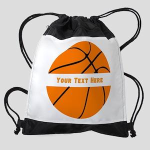 Basketball Personalized Drawstring Bag