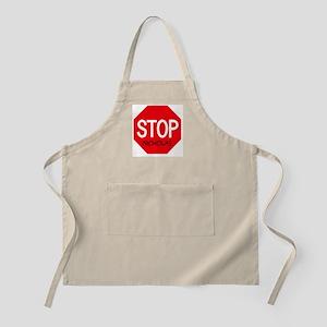 Stop Nicholas BBQ Apron