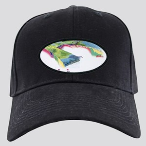 North American geology and oil slick - Black Cap