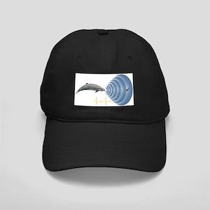 Whale sonar, artwork - Black Cap