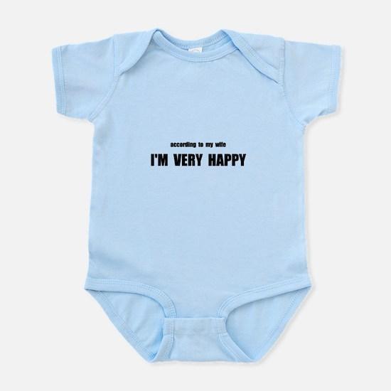 Wife Happy Infant Bodysuit