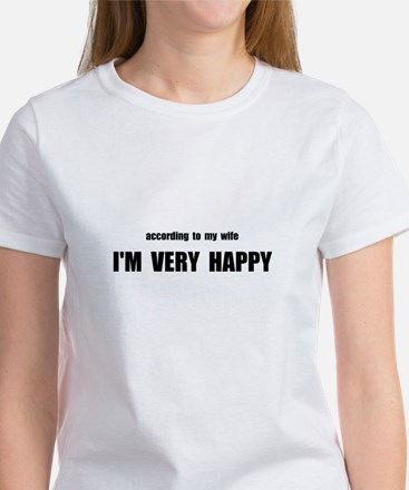 Wife Happy Women's T-Shirt