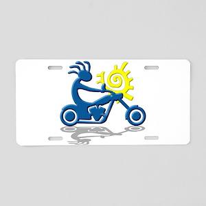 Chopper Aluminum License Plate