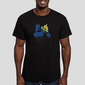 Chopper Men's Fitted T-Shirt (dark)