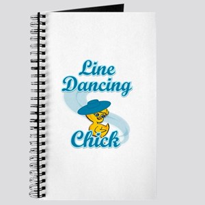 Line Dancing Chick #3 Journal