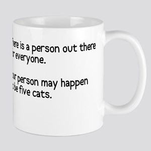 Your person may be five cats Mug