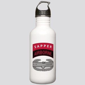 CAB w Sapper - Abn Tab Stainless Water Bottle 1.0L