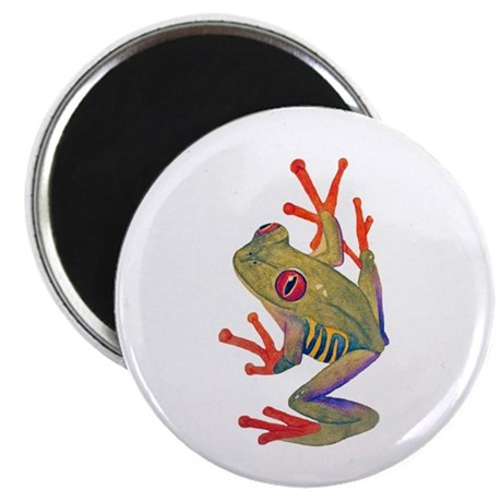 """Red-eyed tree Frog"""" 2.25"" Magnet (10 pack)"