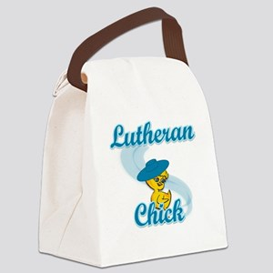 Lutheran Chick #3 Canvas Lunch Bag
