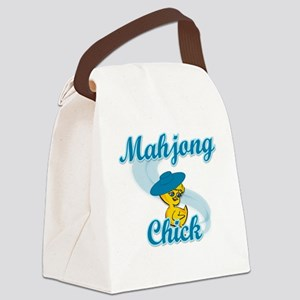 Mahjong Chick #3 Canvas Lunch Bag