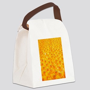 Rubber Duckies Canvas Lunch Bag
