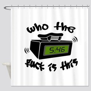 Page Me Shower Curtain
