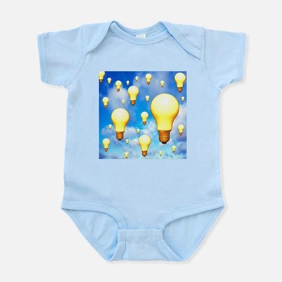 Light bulbs, artwork - Infant Bodysuit