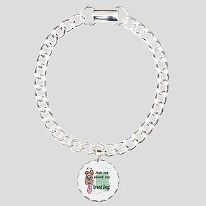 grand dog Charm Bracelet, One Charm
