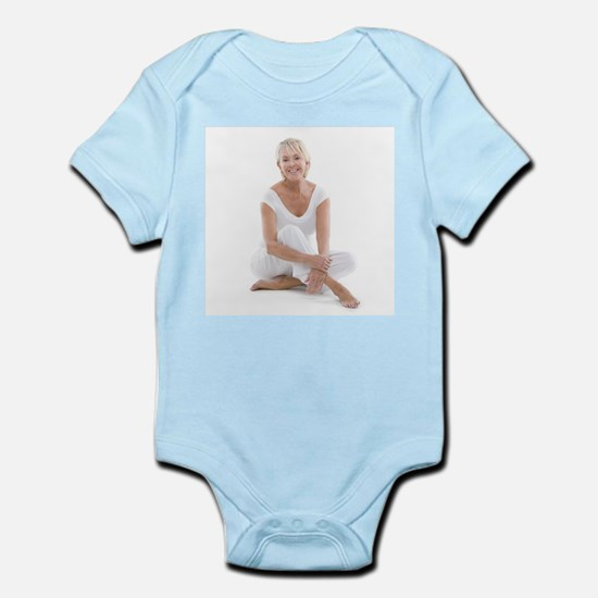 Happy senior woman - Infant Bodysuit