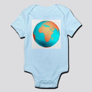 Earth, computer artwork - Infant Bodysuit