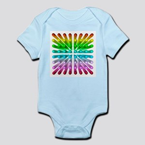 Multicoloured ball grid, artwork - Infant Bodysuit