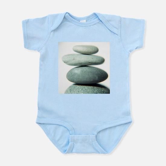 Stacked pebbles - Infant Bodysuit