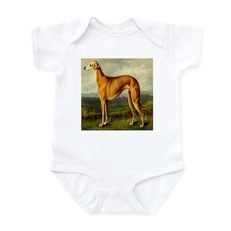 Greyhound 1880 Digitally Rema Infant Bodysuit