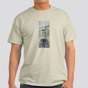 Seagull and Mussels Light T-Shirt