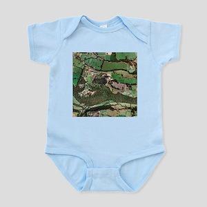 Alton Towers amusement park, aerial image - Infant
