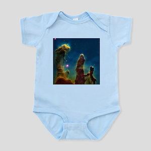 Gas pillars in the Eagle Nebula - Infant Bodysuit