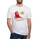 Hugo Chavez Sulphur Smell Fitted T-Shirt