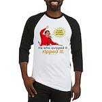 Hugo Chavez Sulphur Smell Baseball Jersey