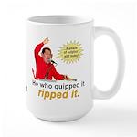 Hugo Chavez Sulphur Smell Large Mug