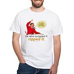 Hugo Chavez Sulphur Smell White T-Shirt