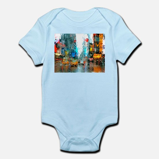 Times Sq. No. 7 Infant Bodysuit