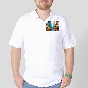 Times Sq. No. 7 Golf Shirt