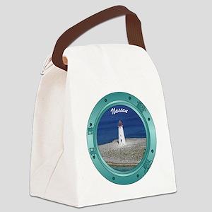 Nassau Porthole Canvas Lunch Bag