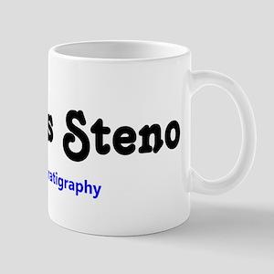 TEXT Nicolas Steno Father of stratigraphy Mug