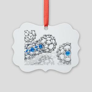 Doping buckyball molecules, artwork - Picture Orna