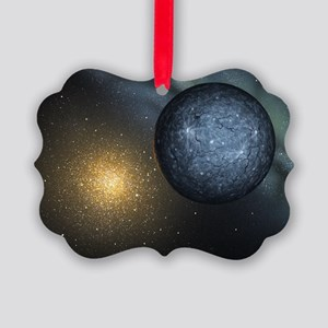 Extrasolar planet, artwork - Picture Ornament