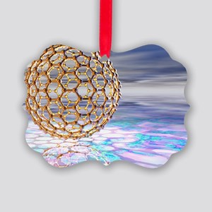 Fullerene molecule - Picture Ornament