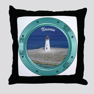 Nassau Porthole Throw Pillow